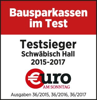 Bausparkassen im Test 2014 - 'Sehr gut' für Schwäbisch Hall - Euro am Sonntag Ausgabe 36/2014